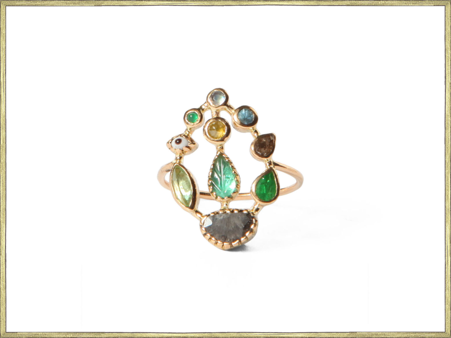 Bague jardin / Garden ring