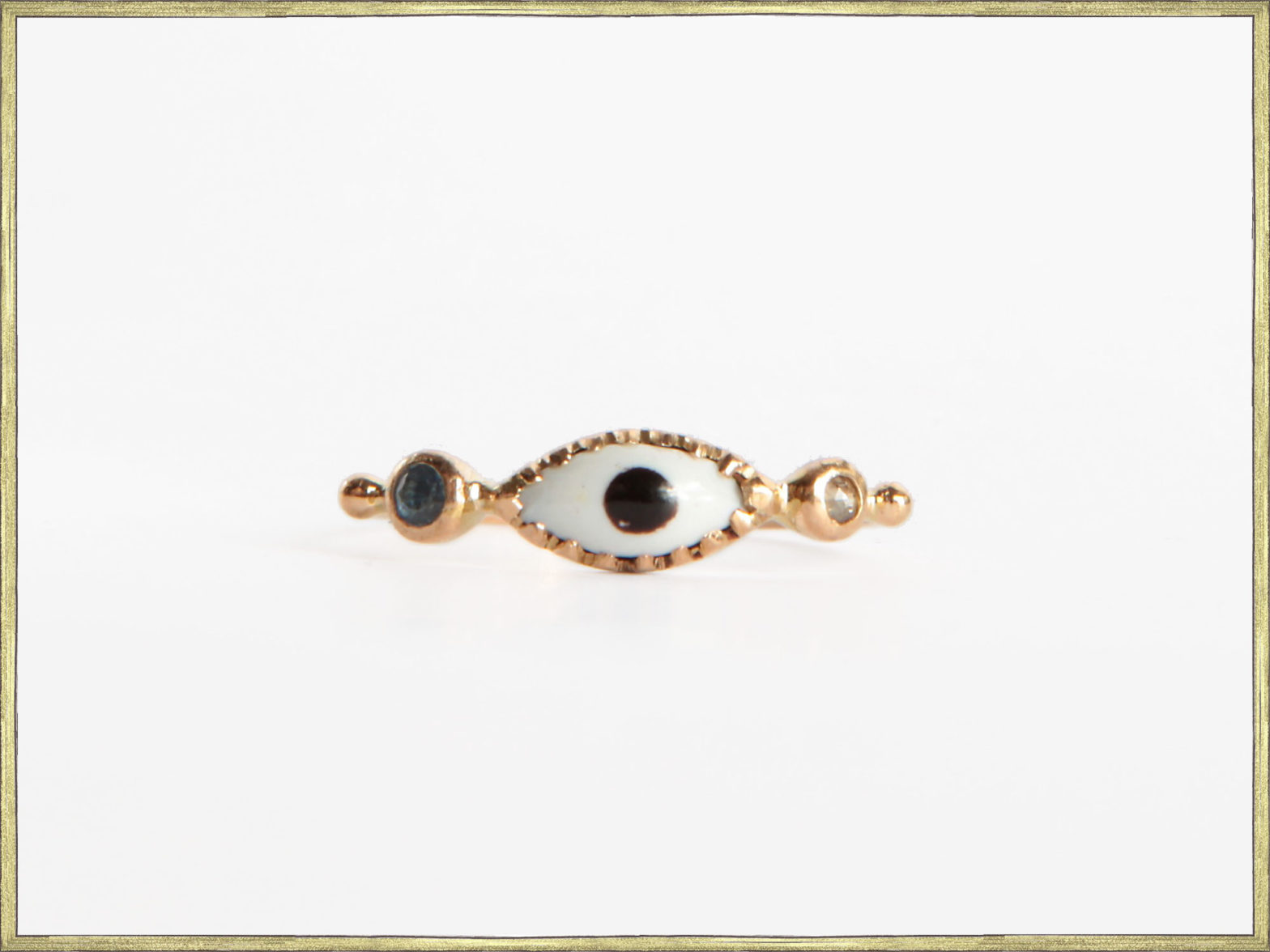 Bague oeil / Eye ring
